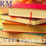 SRMJEEE Syllabus 2020