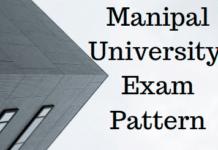 Manipal University Exam Pattern