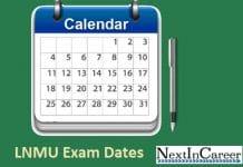 LNMU Exam Dates