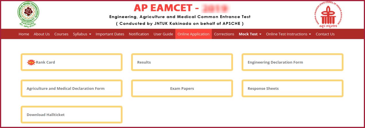 AP EAMCET Rank View 2020