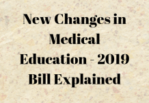 New Changes in Medical Education - 2019 Bill Explained