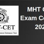 MHT CET Exam Centres 2020