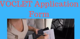 VOCLET Application Form
