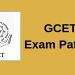 GCET Exam Pattern