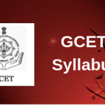 GCET Syllabus