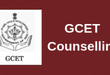 GCET Counselling