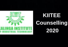 KIITEE Counselling 2020
