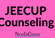 JEECUP Counseling