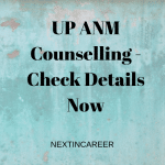 UP ANM Counselling