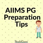 AIIMS PG 2020 Preparation Tips