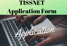 TISSNET Application Form