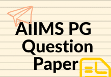 AIIMS PG Question Paper