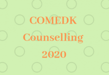 COMEDK Counselling 2020