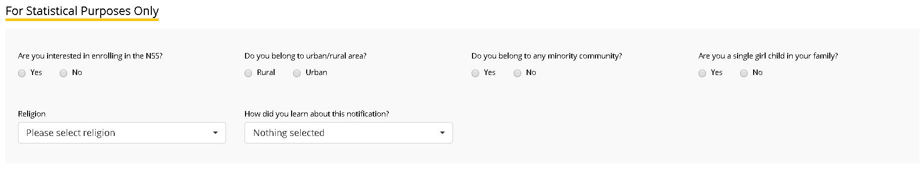 EFLU Application Form General Details