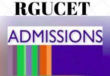RGUCET Admission