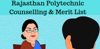 Rajasthan Polytechnic Counselling & Merit List