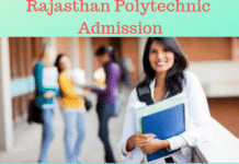 Rajasthan Polytechnic Admission