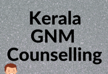 Kerala GNM Counselling