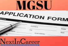 MGSU Application Form