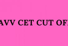 DAVV CET Cut Off