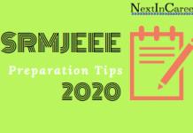 SRMJEEE Preparation Tips 2020
