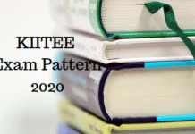 KIITEE Exam Pattern 2020