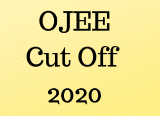 OJEE Cut Off 2020