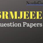 SRMJEEE Question Papers