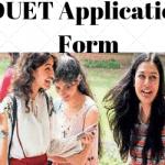 DUET Application Form