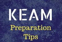KEAM Preparation Tips