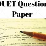 DUET Question Paper