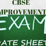 CBSE Improvement Exam Date-sheet