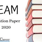 KEAM Question Paper 2020