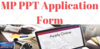 MP PPT Application Form