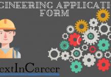 Engineering Application Form