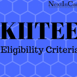 KIITEE Eligibility Criteria