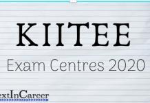KIITEE Exam Centres 2020