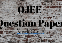 OJEE Question paper