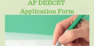 AP DEECET Application Form
