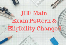 JEE Main Exam Pattern and Eligibility Changed