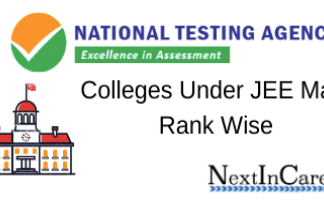 Colleges Under JEE Mains Rank Wise