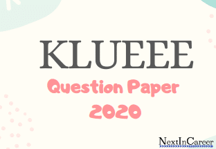 KLUEEE Question Paper 2020