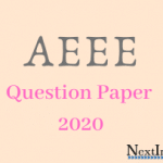 AEEE Question Paper 2020