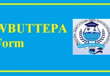 WBUTTEPA Form