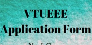 VTUEEE Application Form