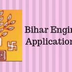 Bihar Engineering Application Form
