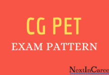 CG PET Exam Pattern