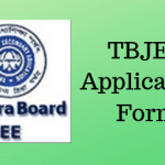 TBJEE Application Form
