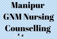Manipur GNM Nursing Counselling