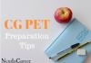 CG PET Preparation Tips